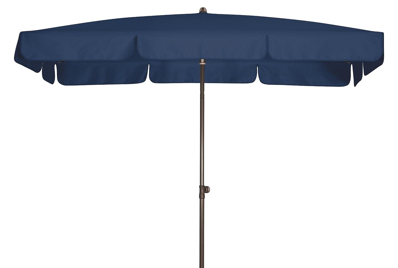 Absolut wasserdichter Gartenschirm Waterproof 225x120 von Doppler mit UV-Schutz 80, Farbe dunkelblau