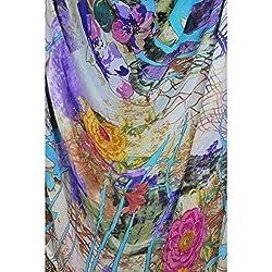 Triveni Faux Georgette Fabrics (TSFP09_Multi)