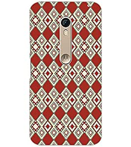 PrintDhaba Pattern D-5108 Back Case Cover for MOTOROLA MOTO X STYLE (Multi-Coloured)