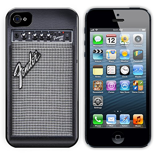 Fender Guitar Amplifier Black Plastic For iPhone 4/4S Case (Fender Iphone 4s Case compare prices)