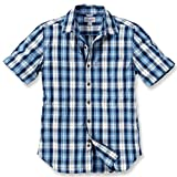 Carhartt Workwear Arbeitshemd - Slim Fit Plaid Shirt - Blau