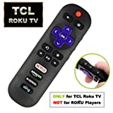 IKU RC280 Standard IR Remote Replacement for TCL Roku Smart TV with Updated 4 Shortcuts (TCL w/CBS, 1-Pack) (Tamaño: TCL w/ CBS, 1-Pack)