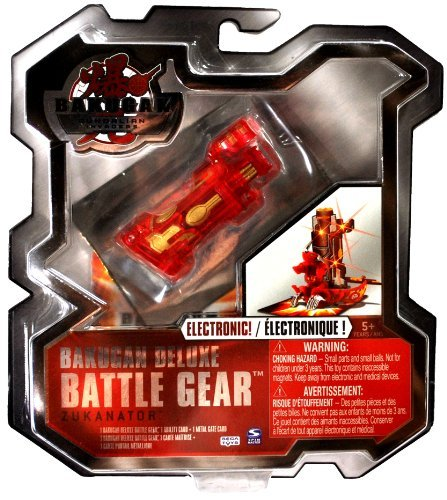 Bakugan Deluxe Battle Gear Zukanator (Colors Vary)