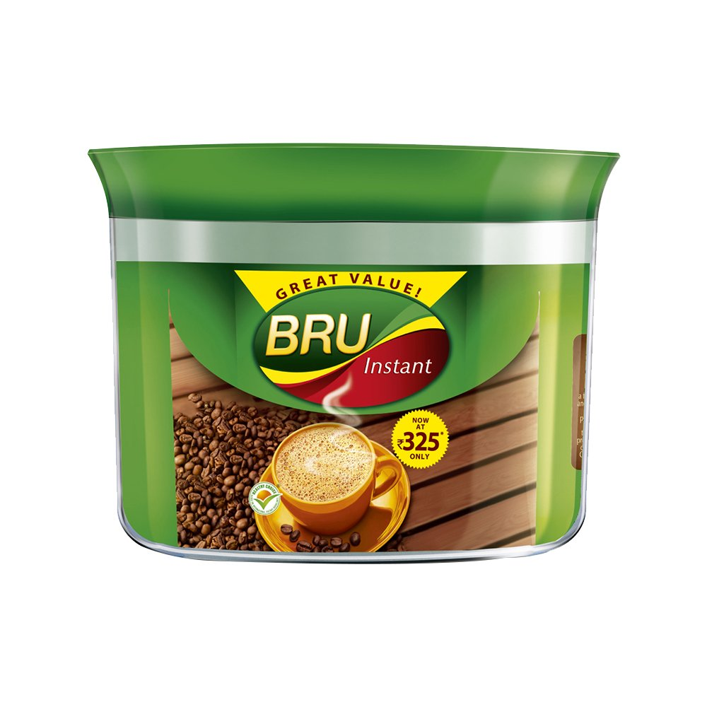 Upto 25% Off On Food, Snacks & Beverages By Amazon | Bru Instant Coffee, 200g Jar @ Rs.252