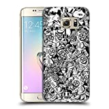 Head Case Designs Tribes Doodle Voodoo Dolls Hard Back Case for Samsung Galaxy S7 edge