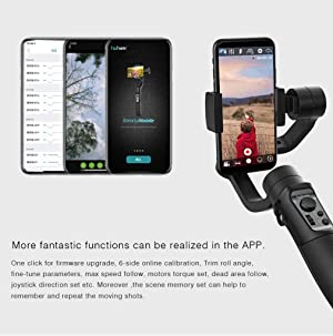 Hohem Gimbal iSteady Mobile 3-Axis Handheld Stabilizer with Face Object Auto Tracking for Smartphone, for iPhone Xs/XS MAX/XR/X /8 /8P, for Galaxy S10, S9, Note 9/8 (Hohem stabilizers)