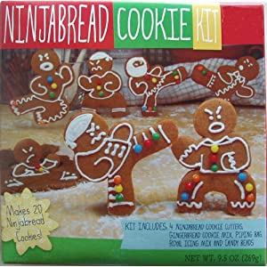 Ninjabread Cookie Kit