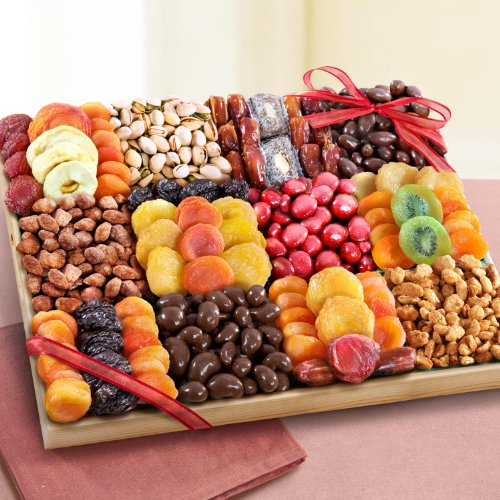 Sweet Extravagance Ultimate Dried Fruit and Snacks Party Tray