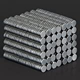 500 Pieces Disc Rare Earth Neodymium Super Strong Fridge Magnets N35