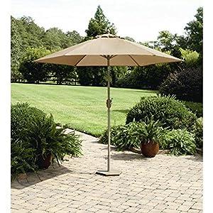 Patio Umbrella Garden Outdoor Long Beach 9 Patio Lawn Garden