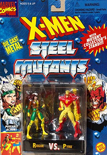 X-men Steel Mutants Rogue Vs. Pyro