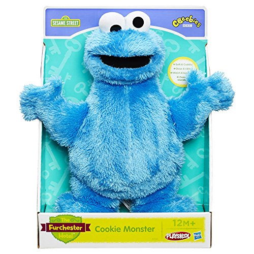 Playskool Sesame Street Cookie Monster Blue