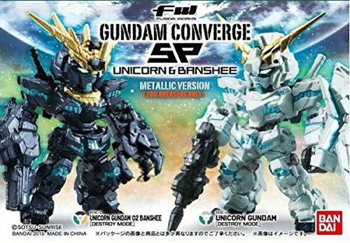 FW ガンダム Converge SP ユニコーン & バンシィ メタリック・バージョン