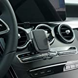 Phone Holder for Mercedes-Benz C-Class,Air Vent Phone Holder,Car Holds Mount for Mercedes-Benz C-Class 2018 2019,Car Phone Mount for iPhone 7 iPhone 6s iPhone 8,for Samsung,Smartphone for 4.7/5 in (Color: Benz-C-Class-02)
