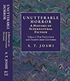 img - for Unutterable Horror: A History of Supernatural Fiction [Volume II] (Twentieth and Twenty-first Centuries) book / textbook / text book