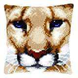 Vervaco Cross Stitch Cushion Puma