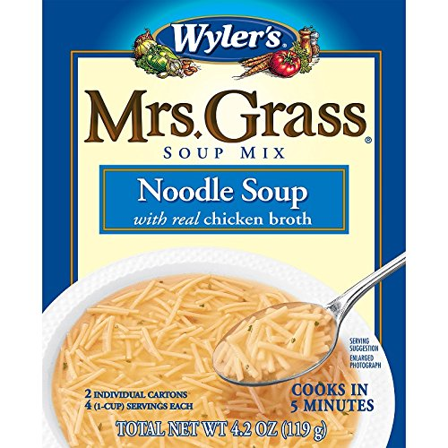 Mrs. Grass Soup Mix, Noodle, 4.2 Ounce (Pack of 12) (Chicken Flavor Soup compare prices)