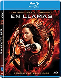 Amazon.com: Los Juegos Del Hambre: En Llamas (Blu-Ray) (Import Movie