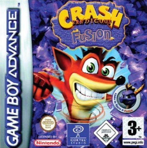 Crash Bandicoot: Fusion (GBA) (Crash Bandicoot Gameboy Advance compare prices)