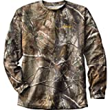Mens Gamehide Elimitick Long - sleeve Camo Tech Shirt