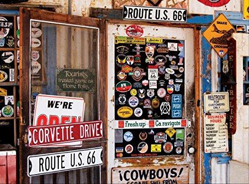 Colorluxe 1000 Piece Puzzle - Route 66 Memorabilia - 1