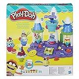 Hasbro Play-Doh B5523EU4 - Eiscreme Schloss, Knete von Hasbro