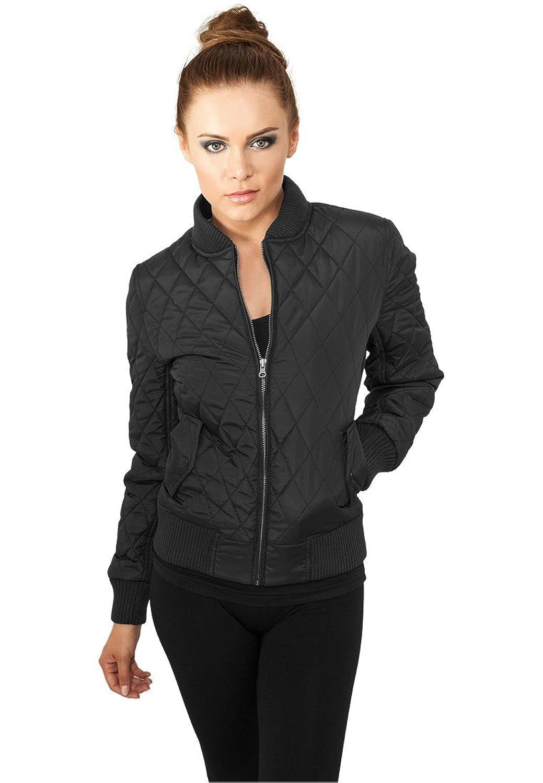 TB806 Ladies Diamond Quilt Nylon Jacket Damen Übergangsjacke online kaufen