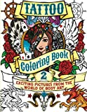 img - for Tattoo Coloring Book 2: Exciting Pictures from the World of Body Art (Chartwell Coloring Books) book / textbook / text book