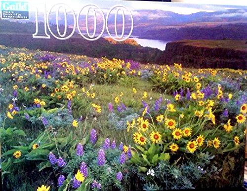 Columbia River Gorge national Scenic Area, Oregon 1000 Piece Puzzle