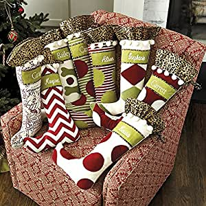 amazon com personalized christmas stockings ballard