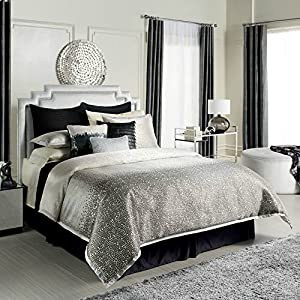 Jennifer Lopez bedding collection Jet Setter 4-pc. Comforter Set - Queen +FREE Euro Sham