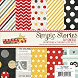 Simple Stories Paper Pad, 6 by 6-Inch, Say Cheese, 24 Per Package