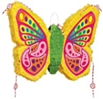 Butterfly pop out pinata party game