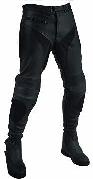 Roleff Racewear 2836L Pantalon Cuir Unisexe Grande Taille, Noir, L36