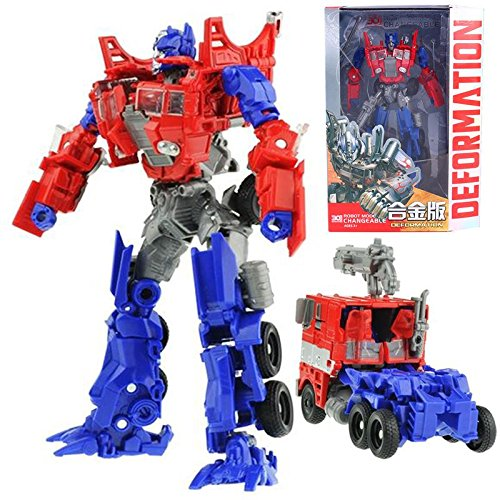 Optimus Prime Metal Action Figures Toy With Box 18cm (Transformers United Drift compare prices)