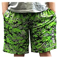 Lacrosse Short Digital Camo 100% Polyester Performance