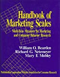 img - for Handbook of Marketing Scales: Multi-Item Measures for Marketing and Consumer Behavior Research (Association for Consumer Research) book / textbook / text book