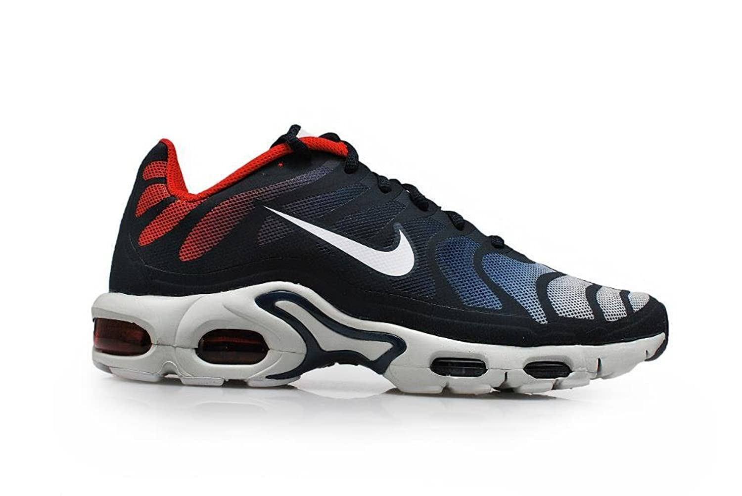sports shoes 1a502 1fb6f nike air max plus fuse TN tuned hyperfuse mens trainers 483553 sneakers  shoes (uk 6 us 7 eu 40, midnight navy white university red 416) | $139.95 -  ...