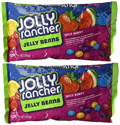 Wild Berry Jolly Rancher Jelly Beans, 14-Ounce (Pack of 2) (Packages Of Blue Jelly Beans compare prices)