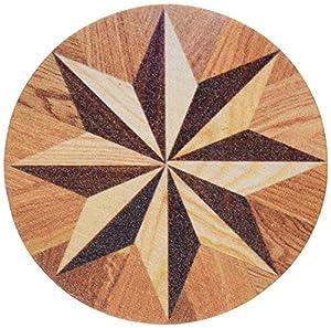 thirstystone stoneware parquet star tile coaster multicolor coasters. Black Bedroom Furniture Sets. Home Design Ideas