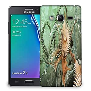 Snoogg Fractal Stairs Designer Protective Phone Back Case Cover For Samsung Galaxy Tizen T3
