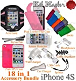 KitMaster® Barbie 18-Item Essential Accessory Bundle for Apple iPhone 4 4G 4S 16GB 32GB