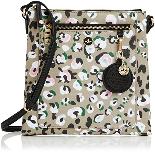 Nica Ellie, Women's Cross-Body Bag, Leopard Print,