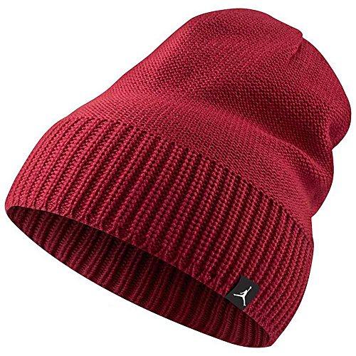 Nike JORDAN JUMPMAN BEANIE - Berretto, Rosso - One size, Unisex