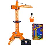 Kennedy Simulation Remote Control RC Tower Crane Toy Children Engineering vehicles Crane toys (Color: picture color, Tamaño: one size)