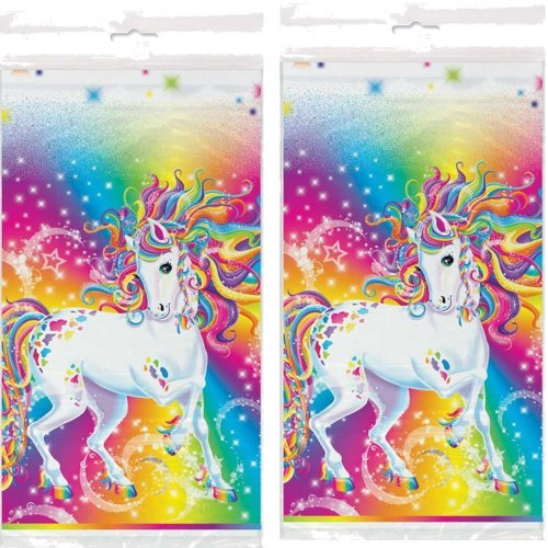 Majesty By Lisa Frank Party Tablecovers  x 2