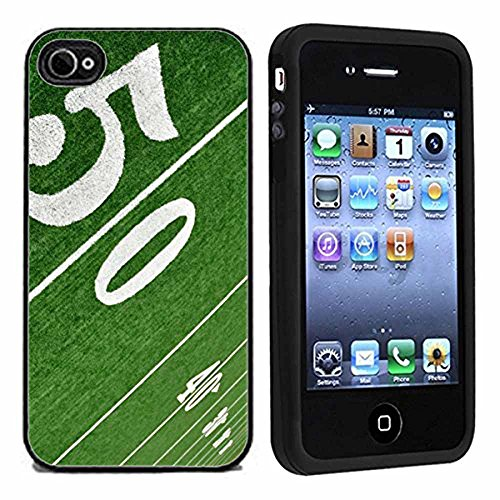 50 yard Line Football On Field Case / Cover For Apple iPhone 4 or 4s by Atomic Market (Football Iphone 4 Case compare prices)