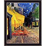 The Cafe Terrace On The Place Du Forum Arles At Night - ArtsNyou Printed Paintings - B00QA1FJVS