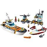 LEGO City Coast Guard Coast Guard Head Quarters 60167 Building Kit (792 Piece)