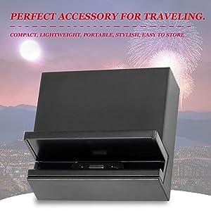 DK39 Magnetic Charging Cradle Desktop Charger Dock for Sony Xperia Z2 Tablet (Color: black)